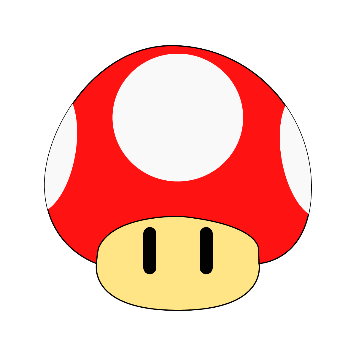 D a 64 la seta de super mario 365 d as 365 dibujos for What color is mario