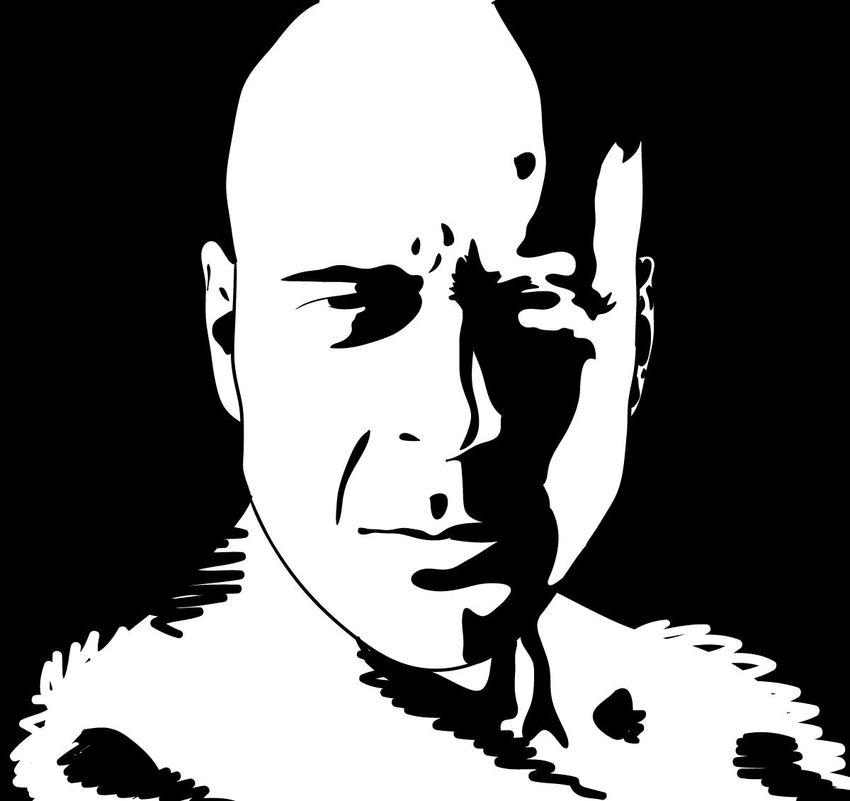 Da 58 Retratos en blanco y negro  365 das 365 dibujos