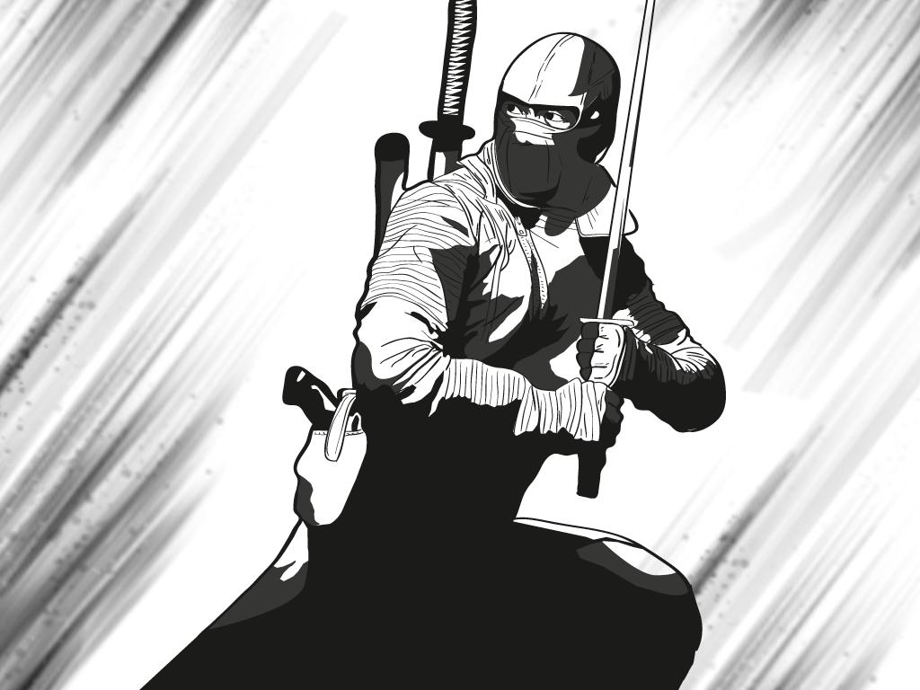 Ninja 365 Días 365 Dibujos