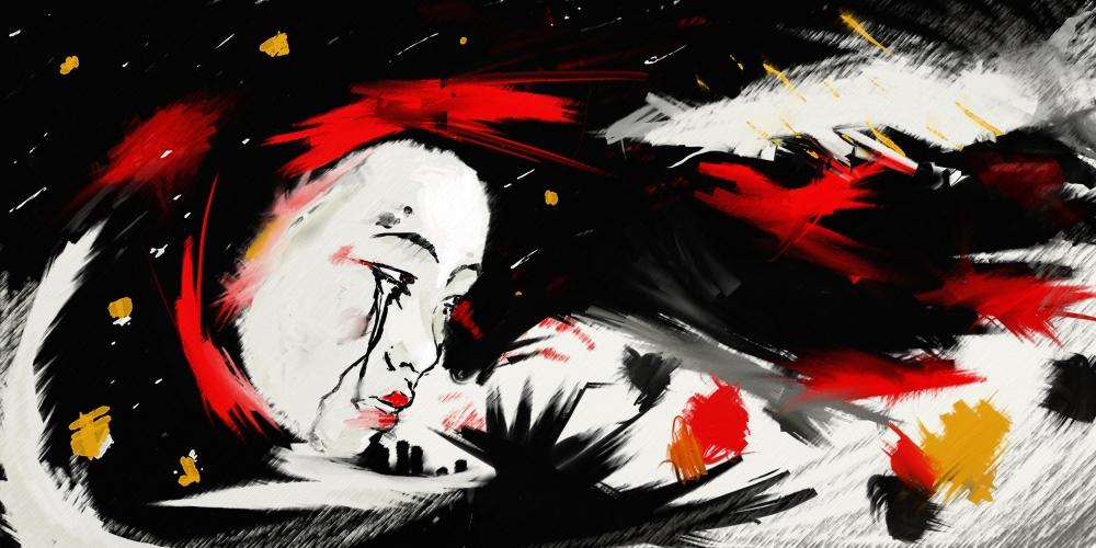 ilustracion geisha